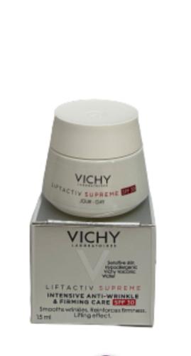 VICHY LIFTACTIV SUPREME Крем-уход дневной против морщин для упругости кожи SPF30, мини-продукт 15мл
