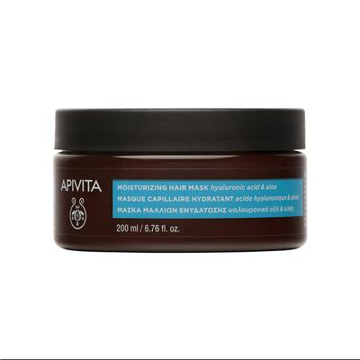 APIVITA Увлажняющая маска для волос с Гиалуроновой кислотой и Алоэ 200мл