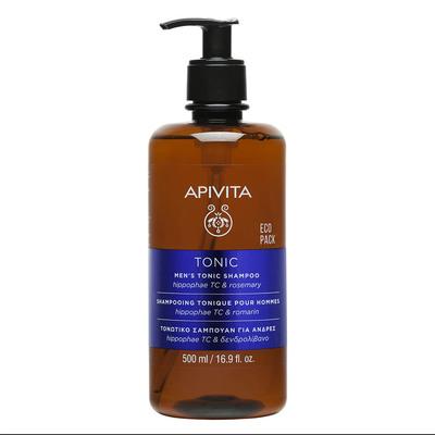 APIVITA Тонизирующий шампунь против выпадения волос для мужчин 500мл