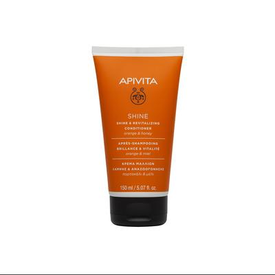 APIVITA Кондиционер для волос Блеск&Жизненная сила с Апельсином и Мёдом 150мл
