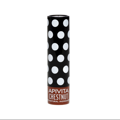 APIVITA Увлажняющий уход для губ с оттенком Каштана