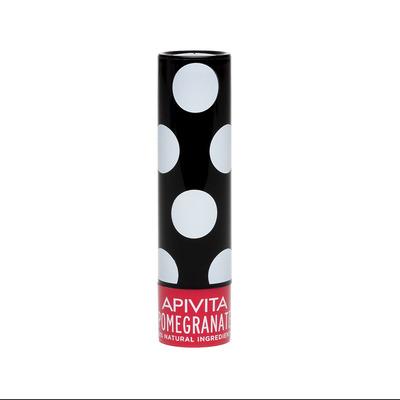 APIVITA Увлажняющий уход для губ с оттенком Граната