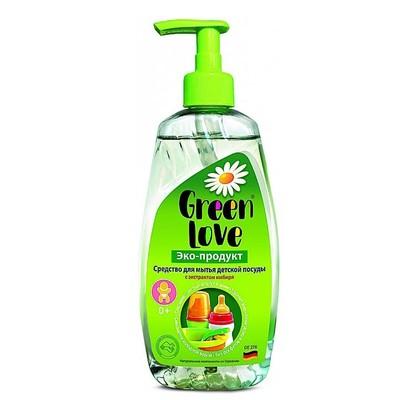 Green Love Средство для мытья детской посуды 500мл