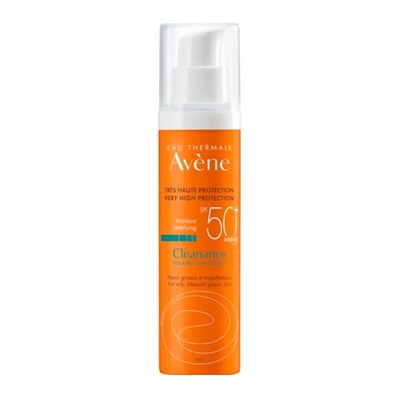 Avene КЛИНАНС Флюид солнцезащитный для проблемной кожи SPF50+ 50мл