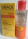 Uriage НАБОР Барьесан Крем солнцезащитный SPF 50+, 50мл + Мицеллярная вода, 100мл