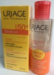 Uriage НАБОР Барьесан Крем солнцезащитный SPF50+ 50мл + Мицеллярная вода 100мл